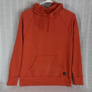 North Face Funnel Neck French Terry Hoodie Medium